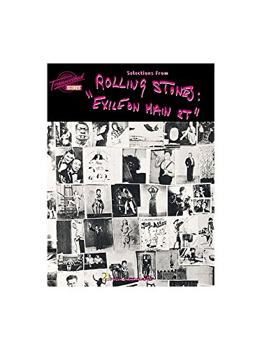 Rolling Stones Exile On Main Street Partitions Pour Partitions
