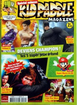 ✓ KID PADDLE MAGAZINE du 01-07-2005 DEVIENS CHAMPION