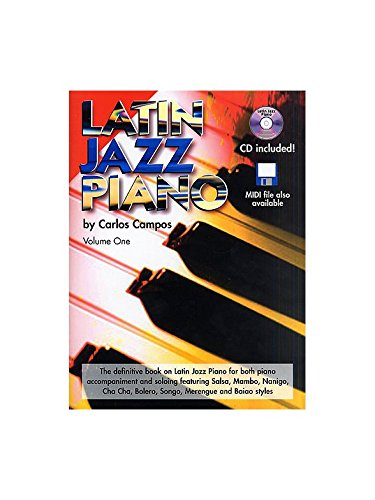 Free Download [Fiction Book] ✓ Latin Jazz Piano + cd - by Carlos