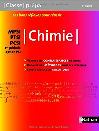 janson de sailly chimie exercices